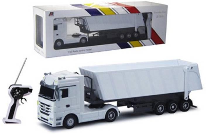 Powerpak 1:32 RC 6CH Plastic Mercedes-Benz License R/C Dump Truck_Toy -  QY1101