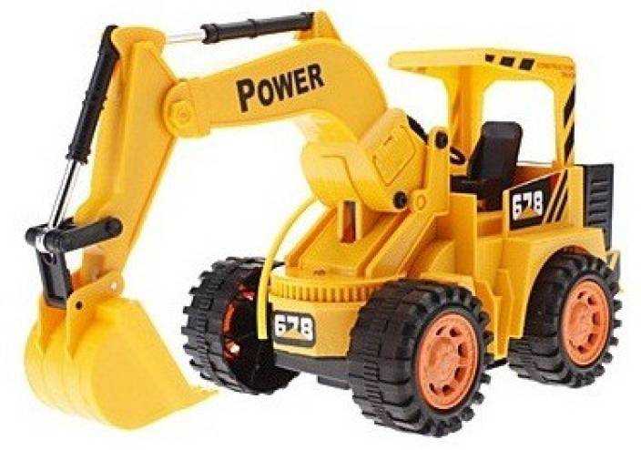 Shopo Kids Jcb Truck Deluxe Wireless Remote Control Rechargeable