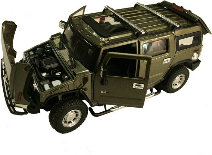 Adra 1 24 Scale Metal Cast Licensed Hummer Sports Car Toy For Collectors