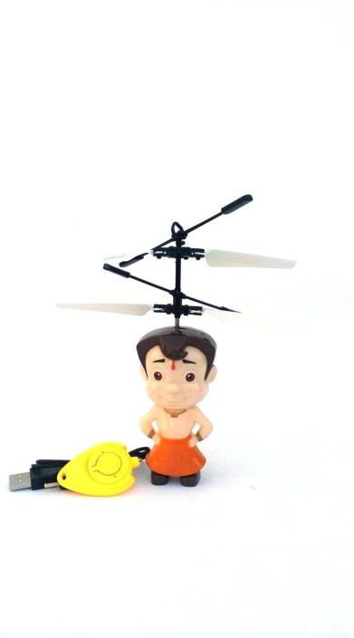 Asa Products chhota bheem flying toys sensor and remote operated