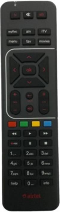 Airtel DIGITAL TV HD RECORDING ORIGINAL Remote Controller