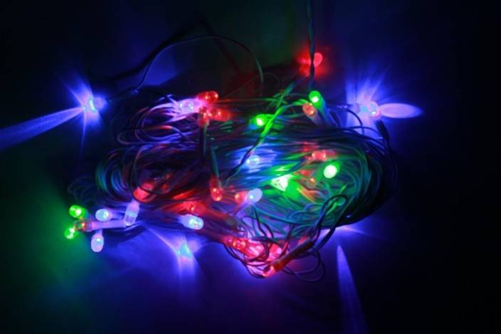 Digilight 200 inch Multicolor Rice Lights