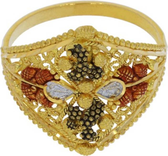 Kalyan Jewellers Calcutta fancy with enamel 22kt Yellow Gold