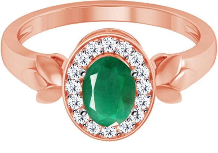 Jacknjewel Vintage Panna 18kt Diamond Rose Gold ring Price in