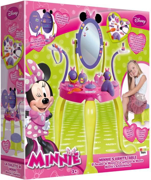 Imc Minnie S Vanity Set With Legs And Stool Minnie S Vanity Set