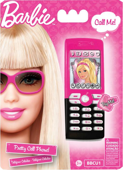 Barbie cell phone cell phone buy barbie toys in india - Telephone barbie ...