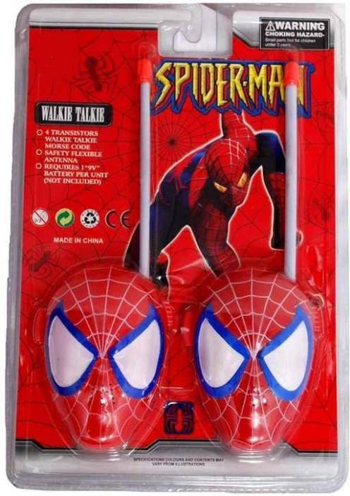 Toys Zone Spiderman Walkie Talkie