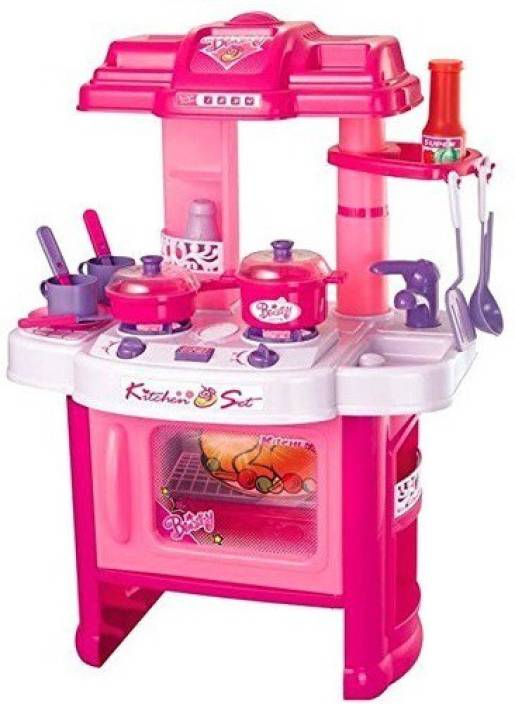 Toysbuggy Kids Real Action Big Kitchen Set Kids Real Action Big