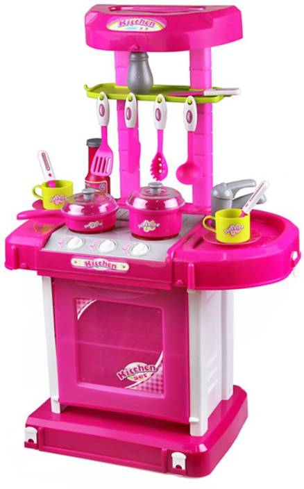 Xiong Cheng Pretend Kitchen Set With Light And Sound - Pretend ...