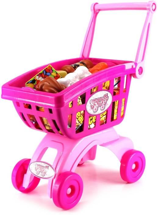 6c264fc2cab Building Mart Super Fun Kids Market Trolley - Super Fun Kids Market Trolley  . shop for Building Mart products in India.