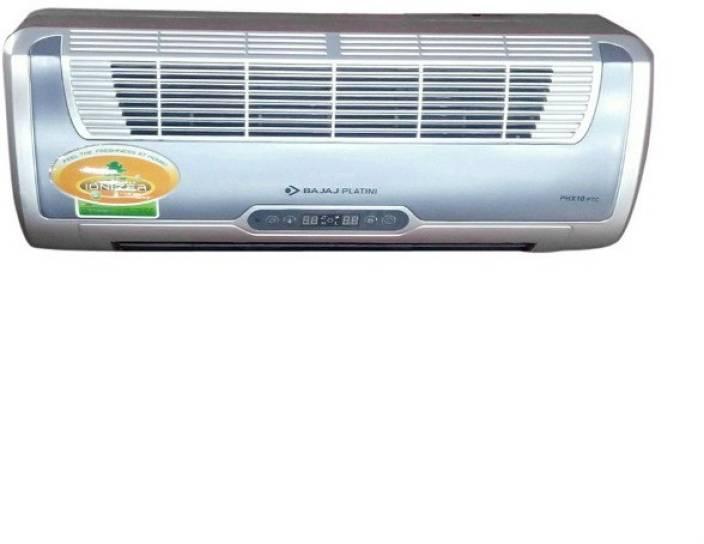 bajaj phx 10 ptc phx 10 wall mounted ptc fan room heater. Black Bedroom Furniture Sets. Home Design Ideas