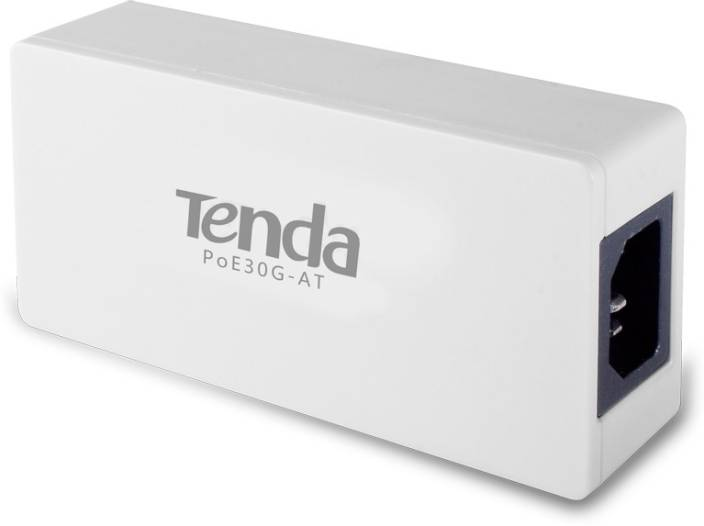 TENDA 10/100/1000 Mbps Support IEEE802 3at Gigabit PoE Injector  TE-POE30G-AT Router