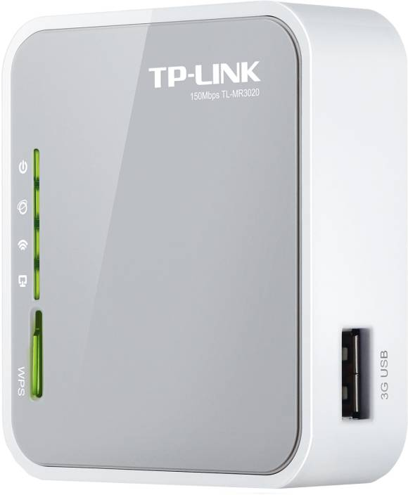 TP-LINK TL-MR3020 Portable 3G/3 75G/4G Wireless N Router