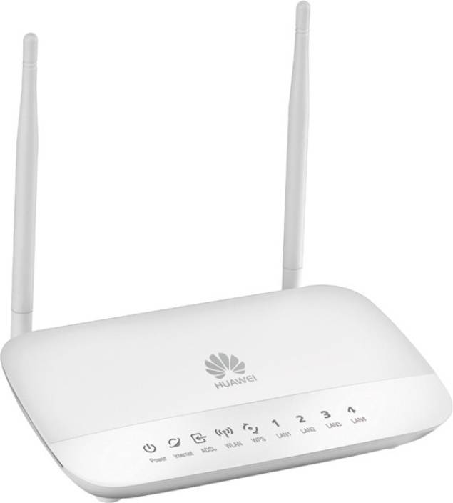 Huawei HG532D: ADSL2+ 300 Mbps Modem With Router
