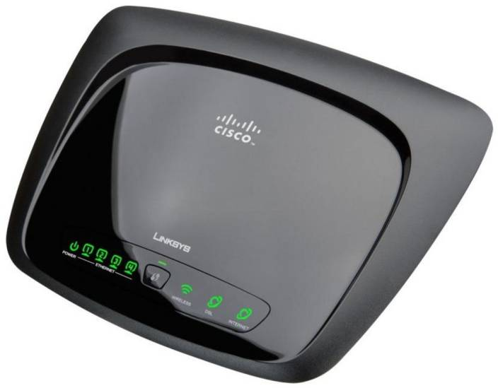Cisco Linksys WAG120N Wireless-N Home ADSL2 Modem Router