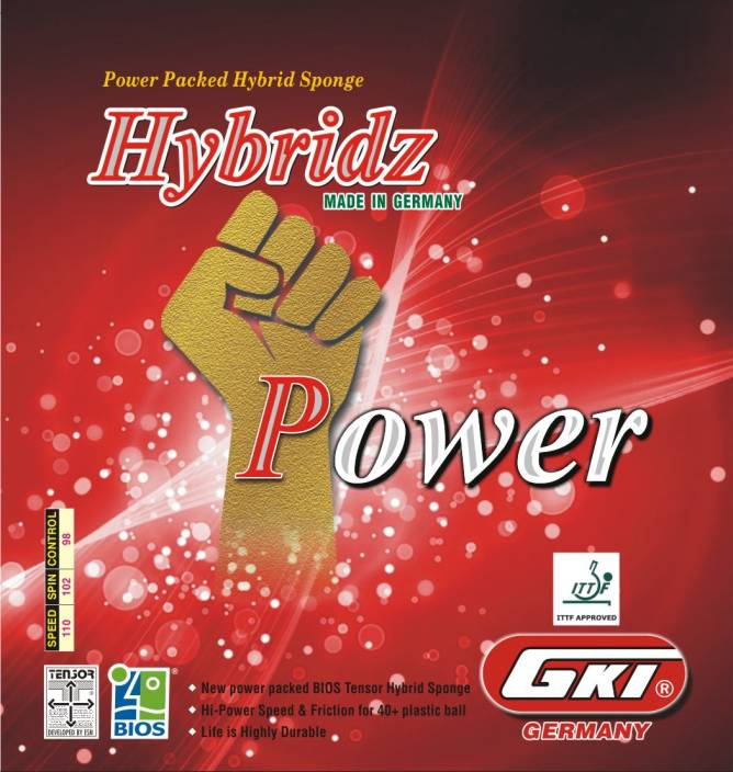 GKI Hybridz Power 4 mm Table Tennis Rubber