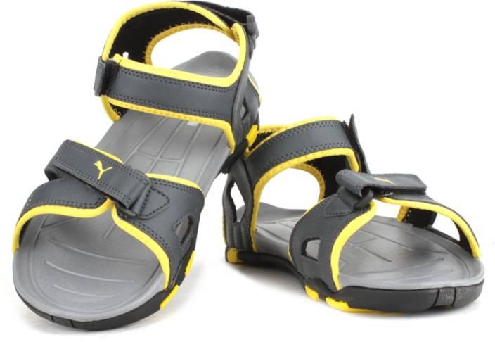Puma Men Dark shadow-dandelion Sports Sandals