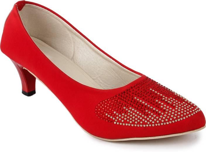 Bapu Beta Women RED Heels - Buy RED Color Bapu Beta Women RED ...