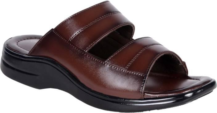 1AAROW Men brown Sandals