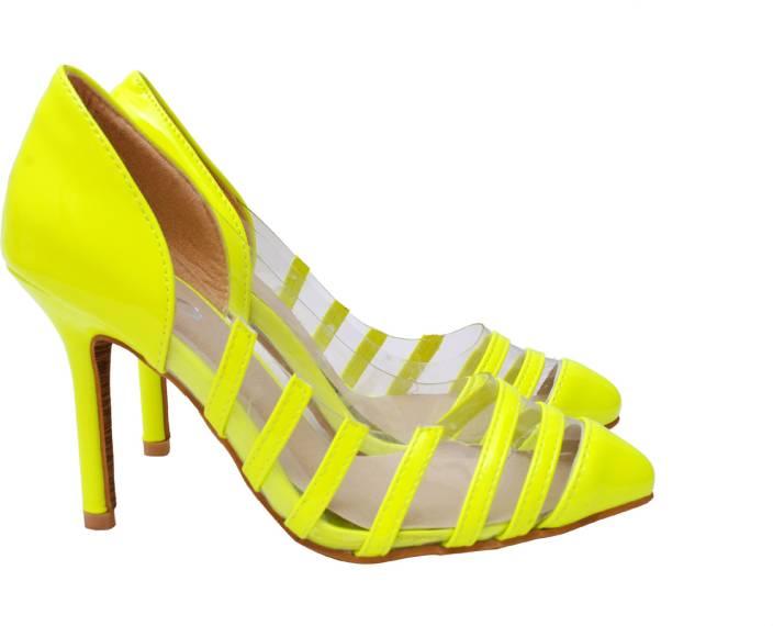 Ilo Women NEON Heels - Buy NEON Color Ilo Women NEON Heels Online ...