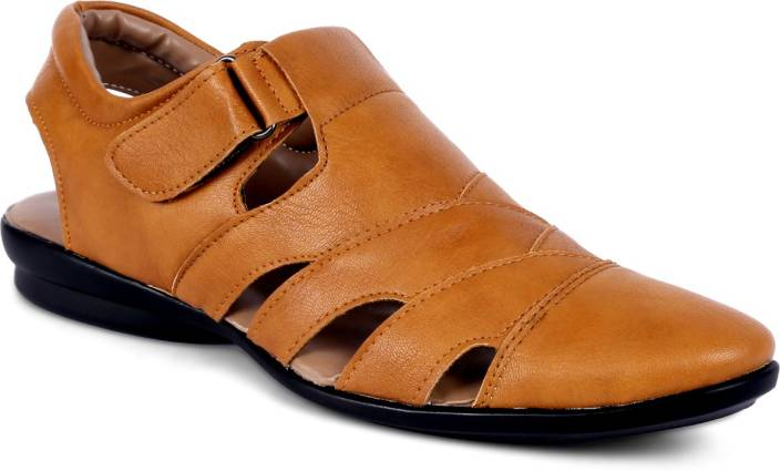 dddf63083a53 Peponi Men Tan Sandals - Buy Tan Color Peponi Men Tan Sandals Online at Best  Price - Shop Online for Footwears in India