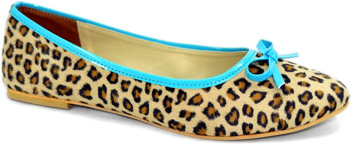 Shoedeal Women Blue Flats