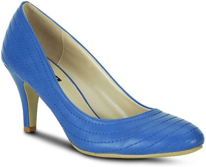 Get Glamr Women Blue Heels