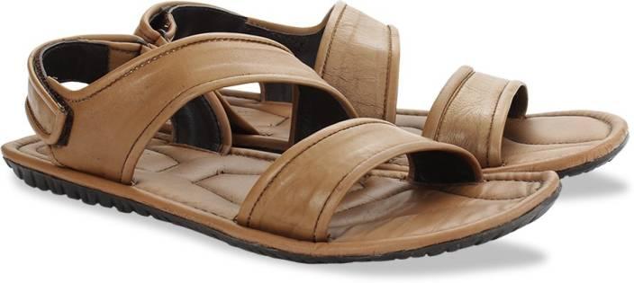 Arrow Men Tan Sports Sandals