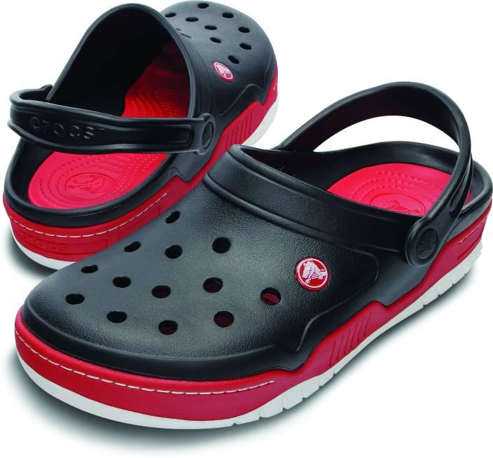 Crocs Men Black Red Sandals - Buy Black Red Color Crocs Men Black Red  Sandals Online at Best Price - Shop Online for Footwears in India  9ad18003f