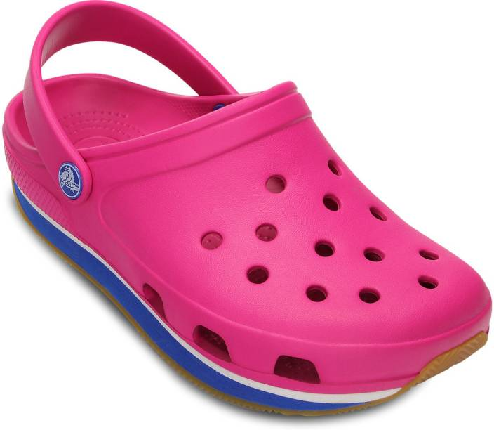 9613bad80 Crocs Men Fuchsia Sea Blue Clogs - Buy Pink Color Crocs Men Fuchsia Sea  Blue Clogs Online at Best Price - Shop Online for Footwears in India