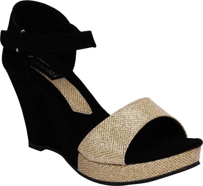 Footshez Women Black Heels - Buy Black Color Footshez Women Black ...
