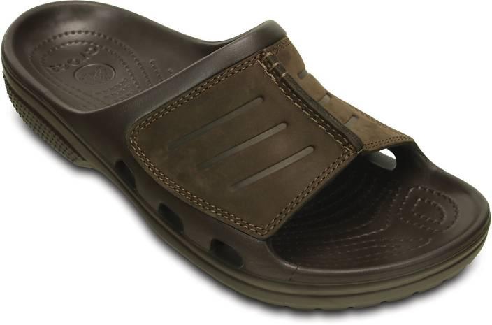 3676ece62cba7 Crocs Men Brown Flats - Buy 203294-22Z Color Crocs Men Brown Flats Online  at Best Price - Shop Online for Footwears in India