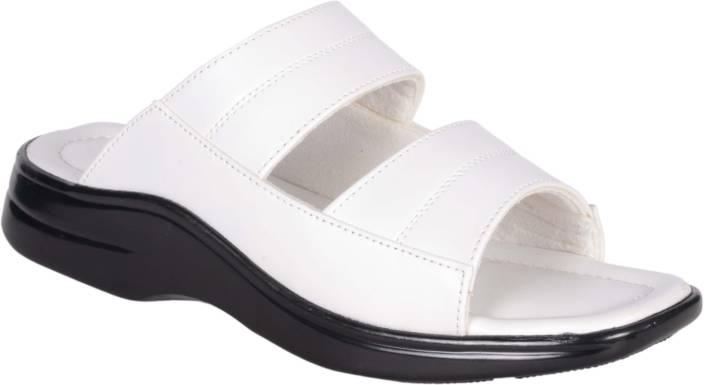 1AAROW Men white Sandals