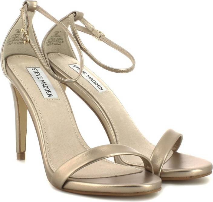 Steve Madden Women Dusty Gold Heels