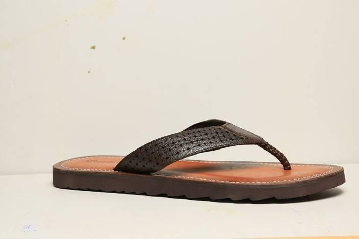 76f29c10c Bata ROCK THONG Flip Flops - Buy Brown Color Bata ROCK THONG Flip Flops  Online at Best Price - Shop Online for Footwears in India