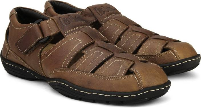 1632c886f2978d Lee Cooper Men Tan Sports Sandals - Buy Tan Color Lee Cooper Men Tan Sports  Sandals Online at Best Price - Shop Online for Footwears in India
