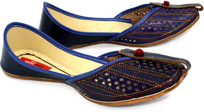 Shoedeal Women BLUE Flats