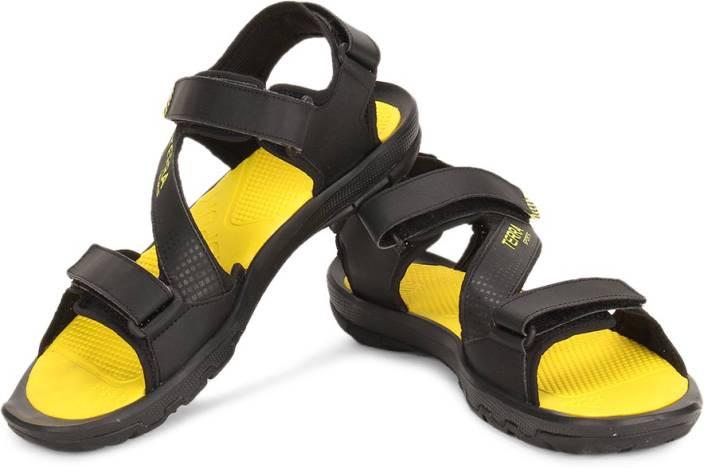 Adidas Men BLACK/BYELLO Sports Sandals