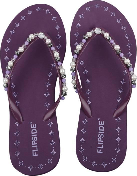 1d590924bcfa Flipside Women Purple Flats - Buy Pearl Purple Color Flipside Women Purple  Flats Online at Best Price - Shop Online for Footwears in India