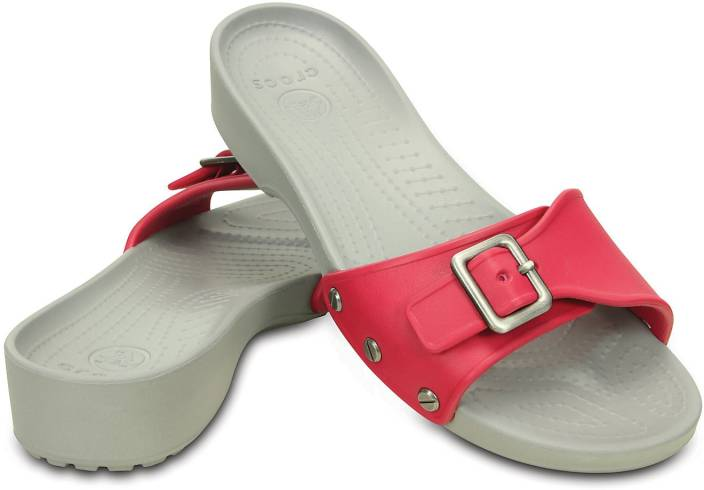 ab6a73f622f5 Crocs Women Pink Sports Sandals - Buy 203054-65G Color Crocs Women Pink  Sports Sandals Online at Best Price - Shop Online for Footwears in India