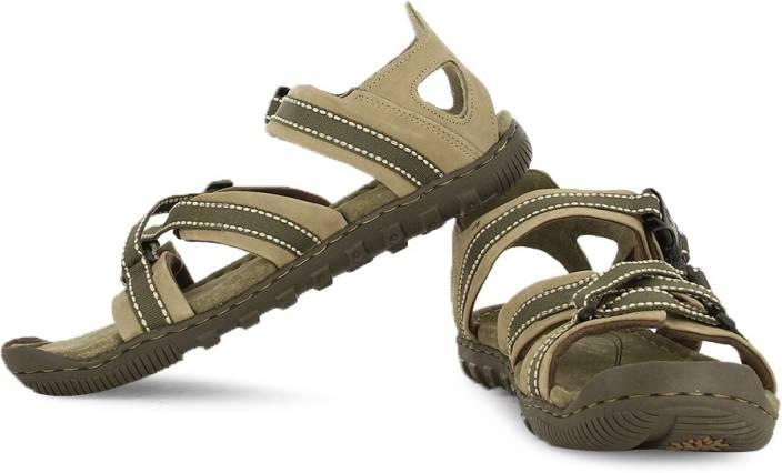 2944a1c28665 Woodland Men Khaki Sandals - Buy Khaki Color Woodland Men Khaki Sandals  Online at Best Price - Shop Online for Footwears in India