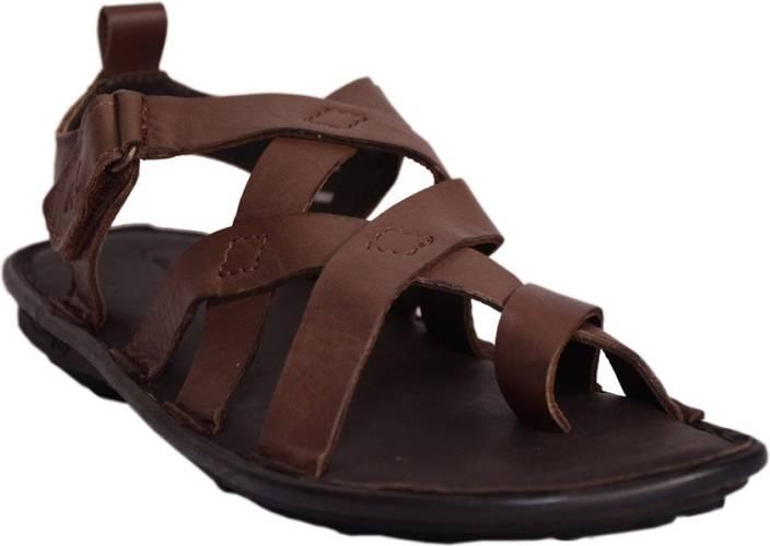 d23f35f9014 Mardi Gras Men Brown Sandals - Buy Brown Color Mardi Gras Men Brown Sandals  Online at Best Price - Shop Online for Footwears in India