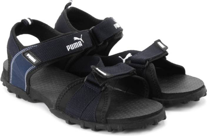 de6940882e02 Puma Men black-blue Sports Sandals - Buy puma blk-peacoat Color Puma Men  black-blue Sports Sandals Online at Best Price - Shop Online for Footwears  in India ...
