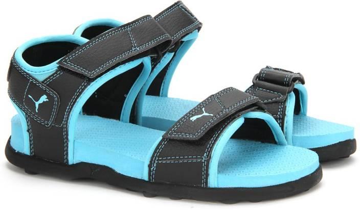 Puma Women Puma Black-Blue Atoll Sports Sandals - Buy Puma Black-Blue Atoll  Color Puma Women Puma Black-Blue Atoll Sports Sandals Online at Best Price  ... 4bd3cd951a