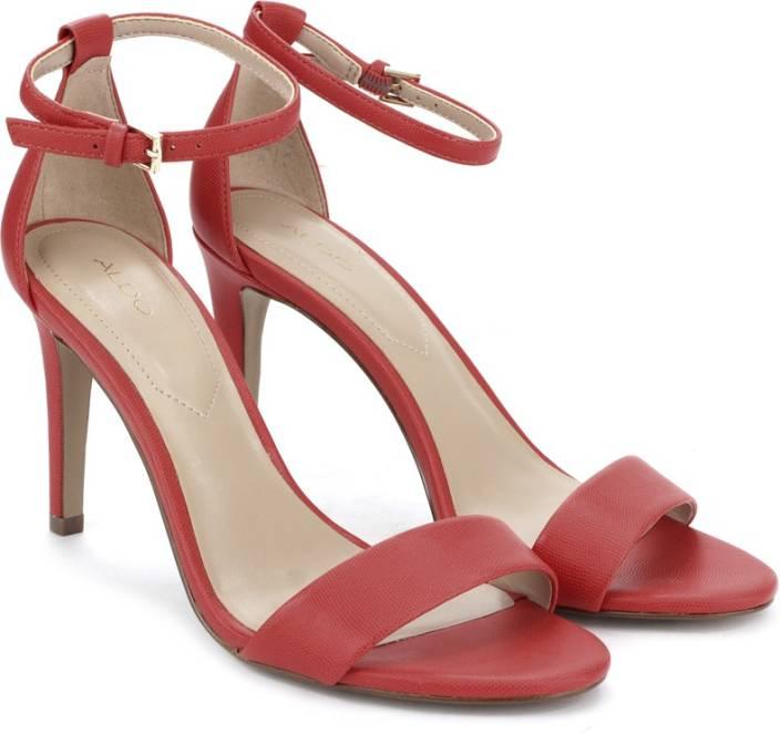 ad33e34ae1 ALDO Women Red Heels - Buy Red Color ALDO Women Red Heels Online at Best  Price - Shop Online for Footwears in India | Flipkart.com