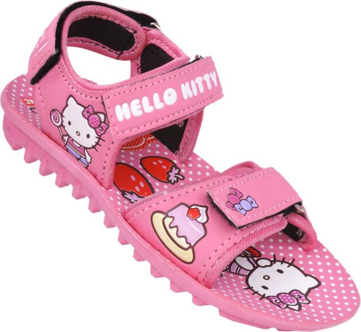 4f90fd0d3 Hello Kitty Girls Sports Sandals Price in India - Buy Hello Kitty ...