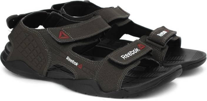 REEBOK Men STONE GRAVEL BLACK Sports Sandals - Buy STONE GRAVEL BLACK Color REEBOK  Men STONE GRAVEL BLACK Sports Sandals Online at Best Price - Shop Online ... b5e767e00