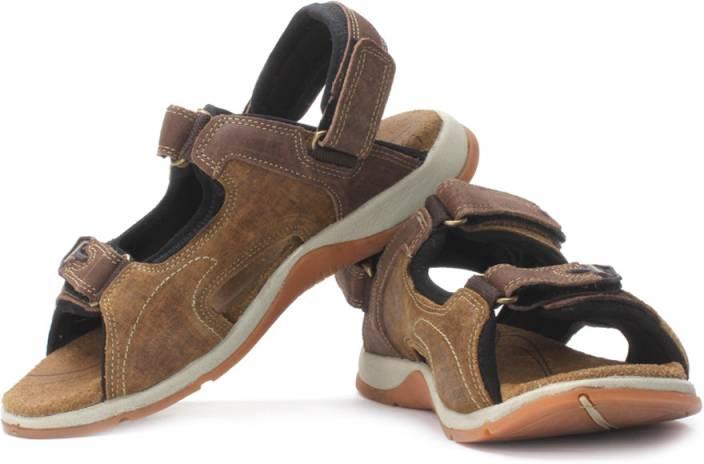 Woodland Men Camel Sports Sandals Buy Camel Color