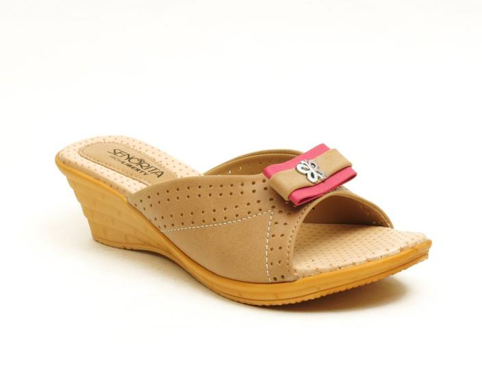 a934c3e46000 Liberty Women BEIGE Sandals - Buy BEIGE Color Liberty Women BEIGE Sandals  Online at Best Price - Shop Online for Footwears in India