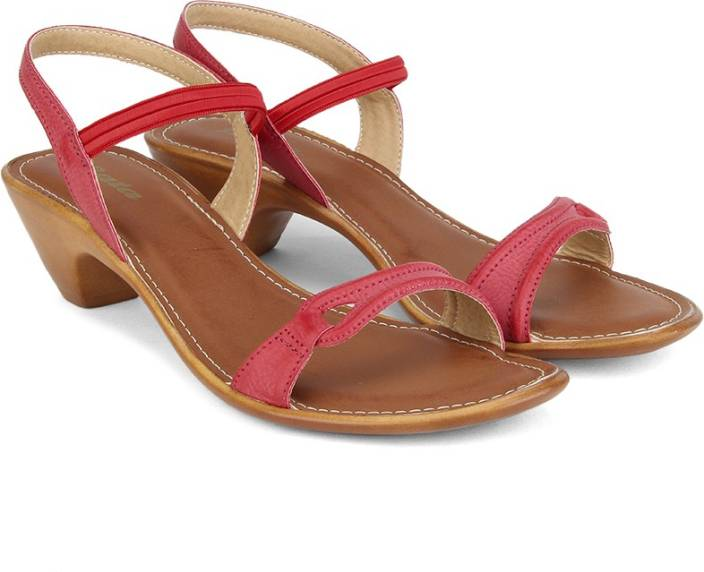 ac06acc2e Bata Women Red Heels - Buy Red Color Bata Women Red Heels Online at Best  Price - Shop Online for Footwears in India